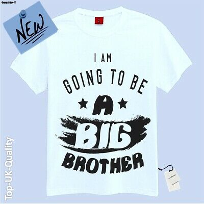 I'm Gonna Be Promoted To A Big Brother T Shirt Kids Children Announcement Idea