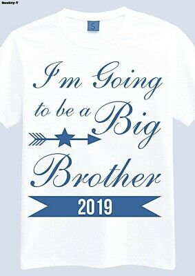 Big Brother T Shirt I'm going to be a Kids Children T Shirt Size 1 2 3 4 5 6 7