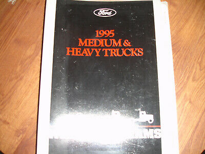 1995 Ford Truck F700 F / B800 FT900 Electrical Wiring Diagram Schematic Manual