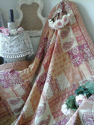 Gorgeous Vintage Coloroll~Reversible Quilt~Db/King Bedspread/Cover/Throw~Perfect