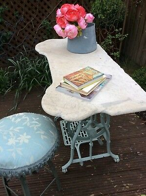 Architectural Antique French Correre Moulded Marble Console Table Top~c19th Vict