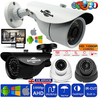 2.4MP CCTV Bullet Dome Camera 1080p HD AHD Security Sony Lens Night Vision