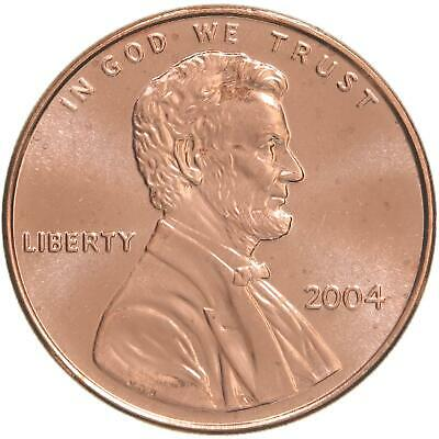 2004 Lincoln Memorial Cent Choice BU Penny US Coin