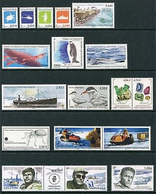 FSAT TAAF French Southern Antarctic 2015 Complete Year Set NH Scott 514-34 507a