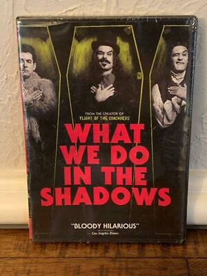 What We Do in the Shadows DVD 2015 Jemaine Clement Taika Waititi New Sealed