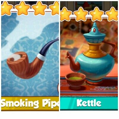 Coin Master Card Bundle *** Smoking Pipe & Kettle ***(Fastest Delivery)