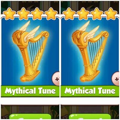 Coin Master Card's Bundle **** 2x Mythical Tune ****(Fastest Delivery)