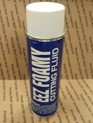 EEZ FOAMY 17oz AEROSOL CUTTING FLUID COMPOUND COOLANT ALL APPLICATIONS