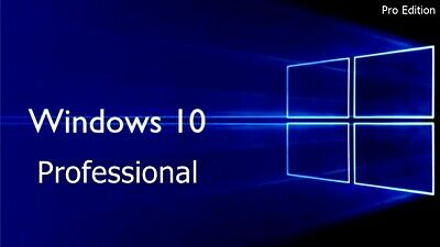 Windows 10 Pro Professional 32 & 64 Bit - 1 PC - KEY + Anleitung Email Versand