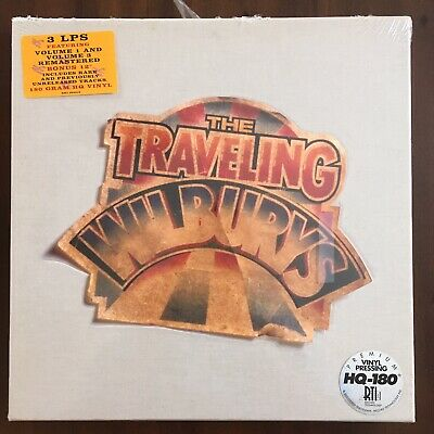 The Traveling Wilburys~Collection~Factory Sealed  2007 3LP Box Set!