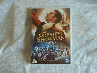 The Greatest Showman Dvd Reg 2 New/Sealed 20Th Century Fox