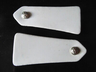 Police : Epaulettes Blanches Annees 60 / Obsoletes