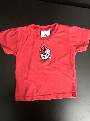 Georgia Bulldog Toddler Tshirt 18month EUC