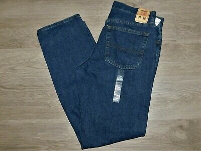 URBAN PIPELINE Jeans Regular Fit Straight Leg Dark Stonewash Blue Choose Size