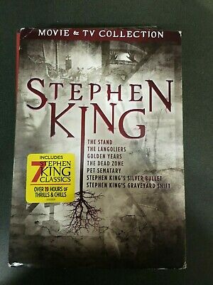 Stephen King Movies Film & TV Collection on DVD
