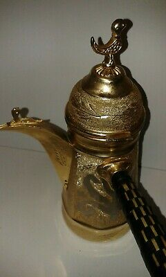 VINTAGE coffee pot with rooster