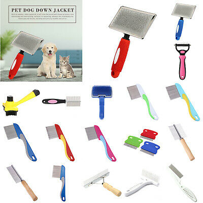 Dog Brush for Shedding-Best Grooming Comb Tools Hair Pet Trimmer Clipper Tools