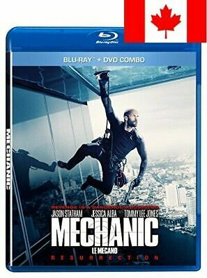 Mechanic: Resurrection [Bluray + DVD] [Blu-ray] (Bilingual)