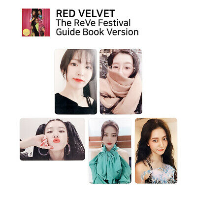 RED VELVET - The Reve Festival Day 1 Official Photocard (Guide Book Ver.)