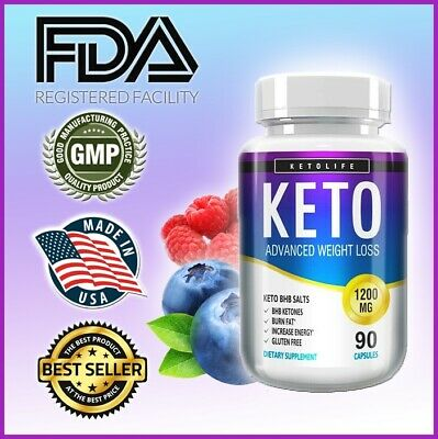 Keto Advanced Weight Loss Fat Burning Pills | 1200 MG, 90 Capsules , Best Value,