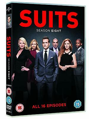 SUITS 8 (2018-2019) Manhattan Law Legal Drama TV Season Series Eu Rg2 DVD not US