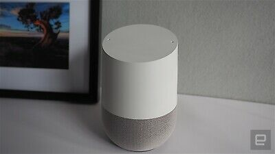 Google Home - White Slate, Google Personal Assistant