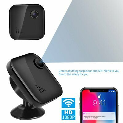 Wireless Spy Camera Hidden Camera with 1080P Ultra Mini & Tiny Nanny Cameras WR