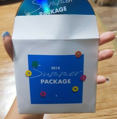 BTS 2018 Summer Package DVD + 7 Mini Poster + Topper + Strap only KPOP