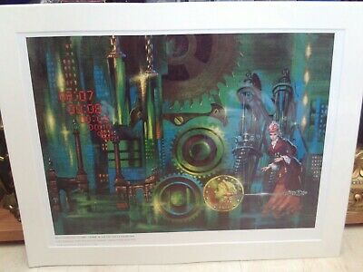 Frank Kelly Freas Starblaze Editions Poster/Print 'Whatever Happened to Emily..'