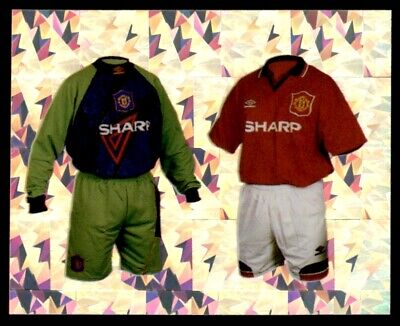 Merlin Premier League 96 - Home Kits Manchester United No. 30