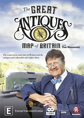 The Great Antiques - Map Of Britain - 2Dvd Set - Brand New Sealed!