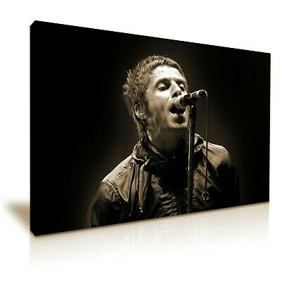 Canvas Picture Print Liam Gallagher Oasis Iconic Music Group Wall Art Poster