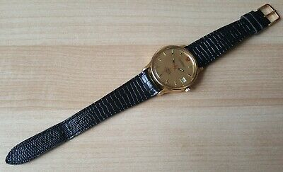 Gent's Vintage 1970 Gold Plated Electronic Omega Constellation Chronometer Boxed