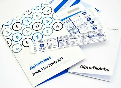 Home Sibling DNA Testing Kit - Fast Next Day Results from AlphaBiolabs