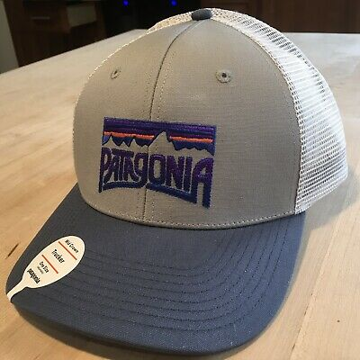 49597f630 PATAGONIA FITZ ROY Frostbite Trucker Hat - New With Tags - Drifter Grey