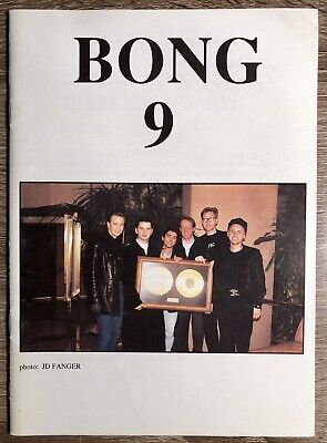 Depeche Mode Fan Club Bong Magazine #9 April 1990 Issue