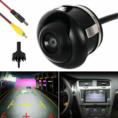 Rotates 360°CCD HD Car Side Parking Rear View Reversing Camera Reverse Universal