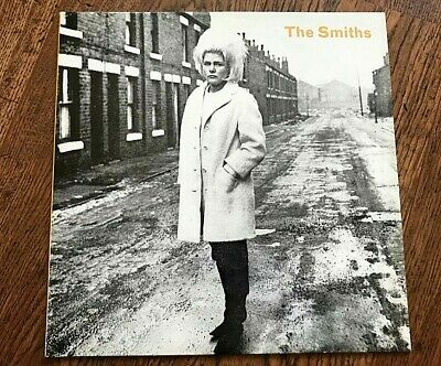 """Rare Original 1984 The Smiths Heaven Knows I'm Miserable Now Vinyl Record 12"""""""