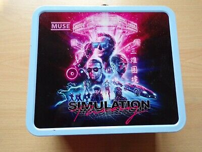 Muse Simulation Theory Ltd Edition Vip Lunchbox & Poster Manchester 08/06/2019