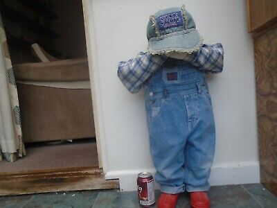 Quirky Life size junior time out doll with Blue State original denim  NICE THING