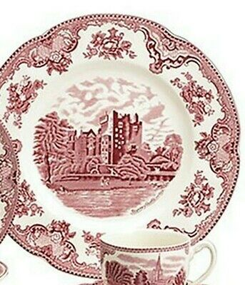 Johnson Brothers OLD BRITAIN CASTLES PINK DINNER PLATES (s)
