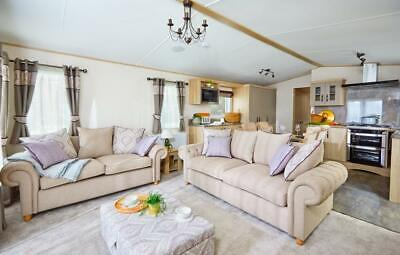 "Luxury Single Lodge ""TOP OF THE RANGE"" North West £2850 Site fees HOLIDAY PARK*"