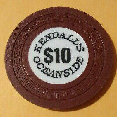 Kendalls Oceanside Casino Russia? $10.00 Chip Great For Any Collection!