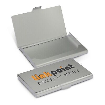 100x Aluminium Business Card Case Desk Items Bulk Promotion Business Merchandise