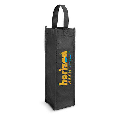 100 x Wine Tote Bag - Single Carriers Bulk Gifts Promotion Business Merchandise