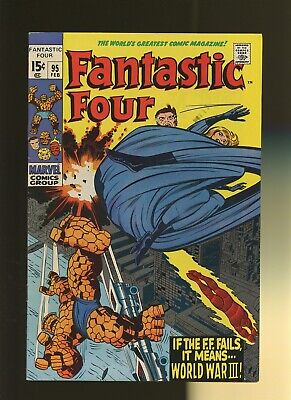 Fantastic Four 95 VF 7.5 * 1 Book Lot * 1st Monocle! Stan Lee & Jack Kirby!