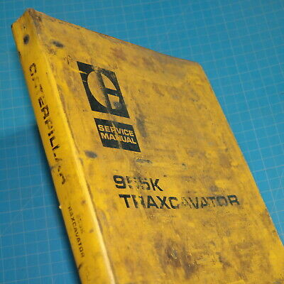 CAT Caterpillar 955K Track Loader Repair Shop Service Manual crawler owner book