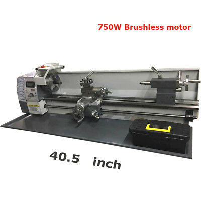 8x31 MT3 Precision Metal Lathe Brushless Motor Bench Lathe 110V 750W