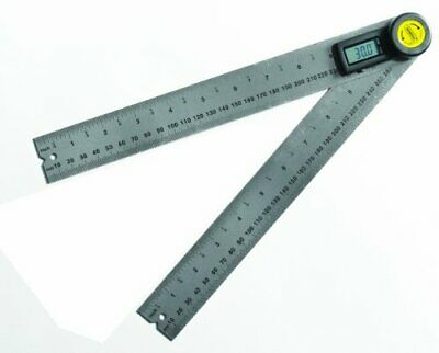 """General Tools 823 Digital Angle Finder Rule, 10"""" (254mm)  Protractor"""
