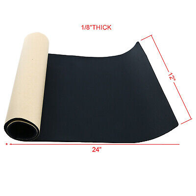 "Multiple Size Sponge Neoprene with Adhesive 1/8""x 12"" x 24"" Foam Rubber Sheet"